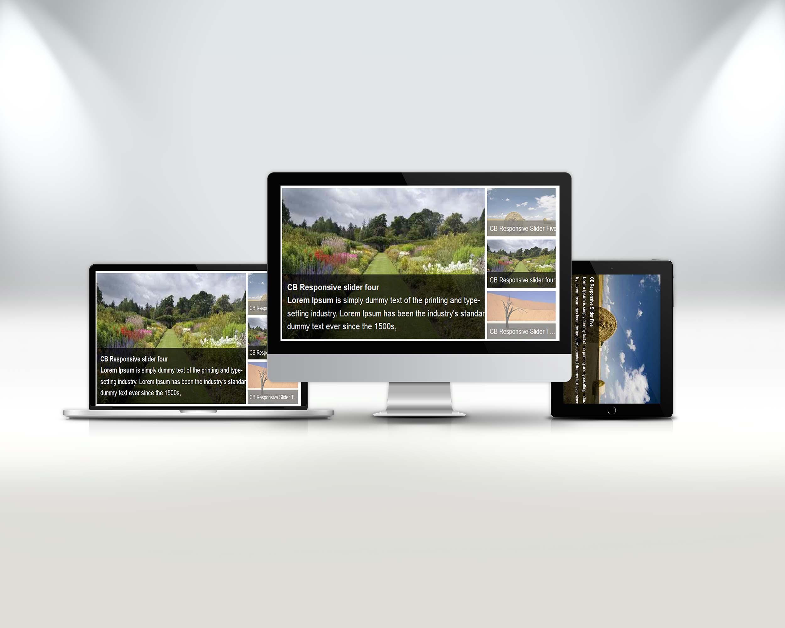 CB Full Responsive Slider WordPress Plugin - Coding Bank