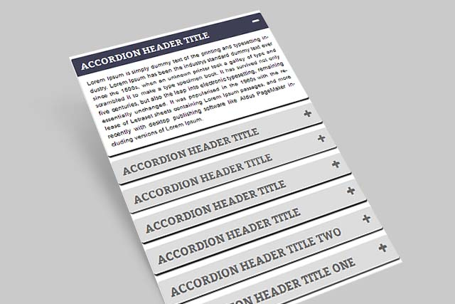 jQuery Accordion 1