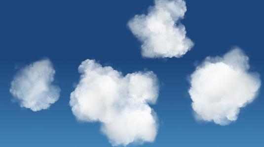 cloudsincss